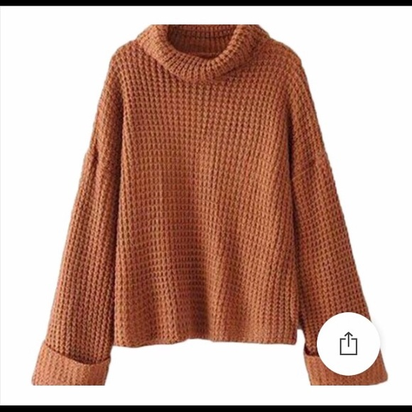 5d9b53e1736a Goodnight Macaroon Sweaters - Retta Cognac ribbed sweater